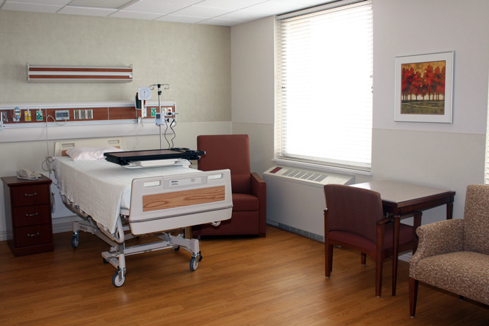 mon general hospital oncology patient room static image