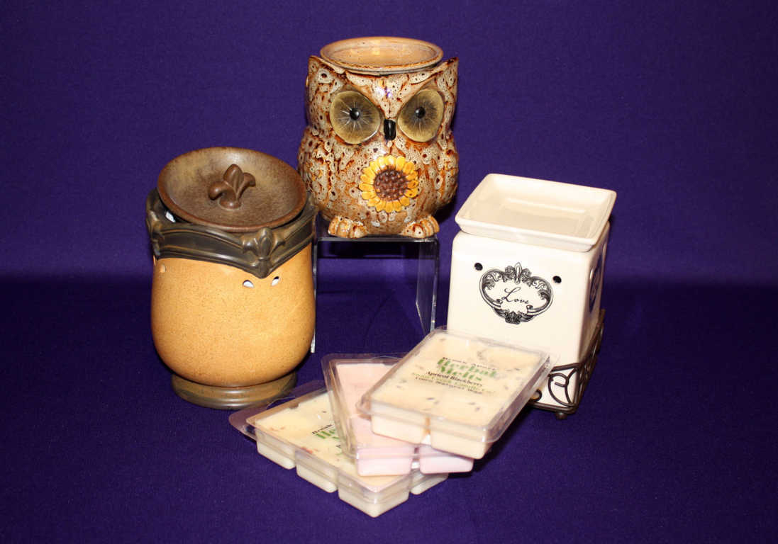 Owl Wax Burner and Candle available at Mon General Gift Shop