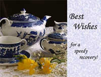 Tea party speedy recovery card